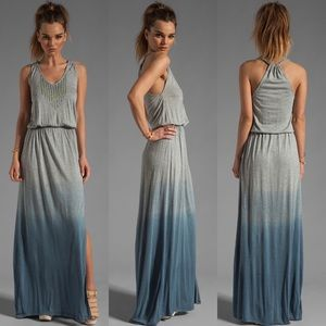 Gypsy 05 Deborah Beaded Maxi Dress in Navy Dip